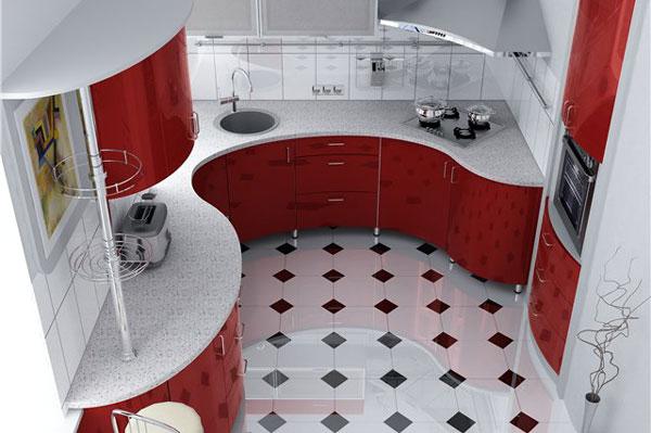 Даже маленькую кухню можно сделать очень красивой и комфортной.