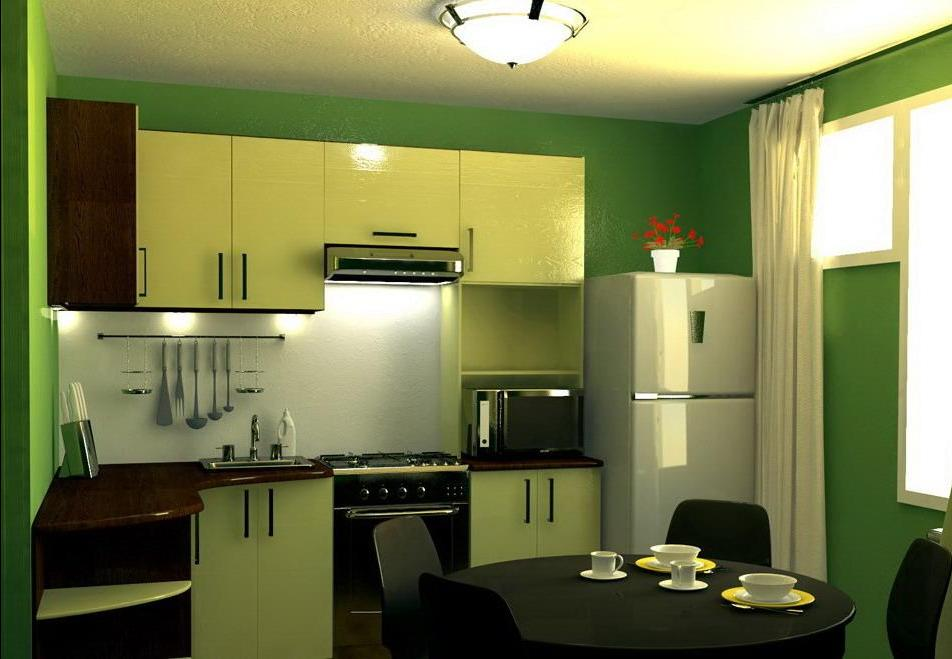 Кухня 6 на 9 дизайн