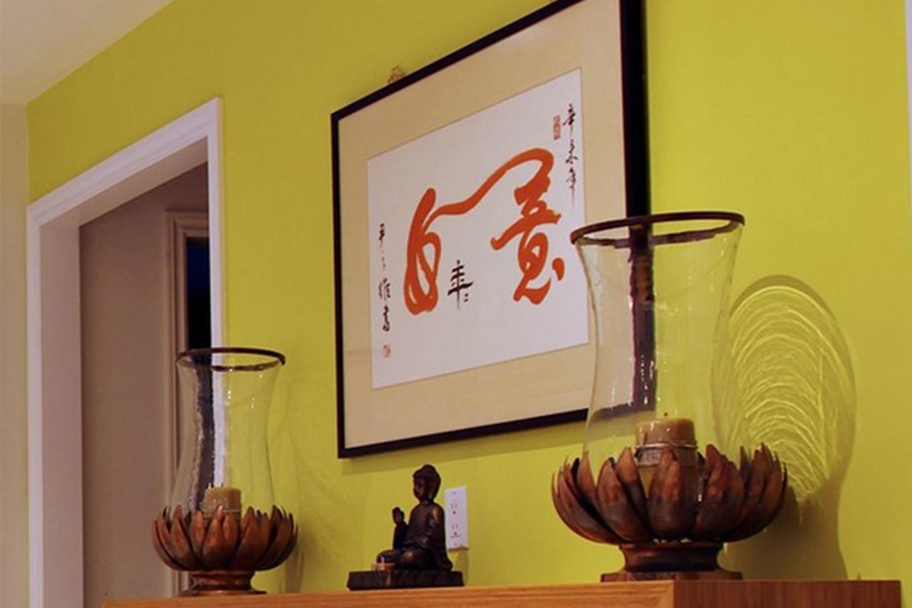 Картина по фен-шуй на кухне