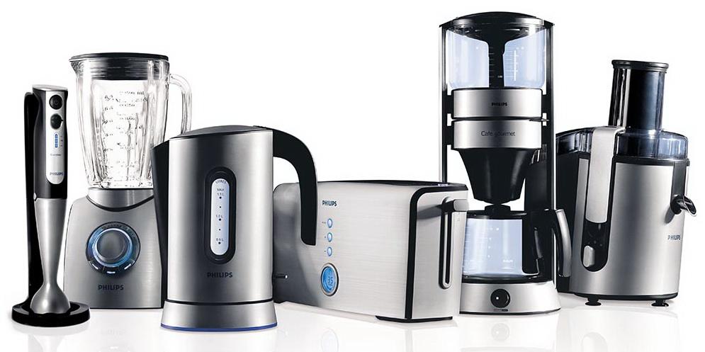 Кухонные приборы подобного стиля очень гармонично впишутся в кухню хай-тек.