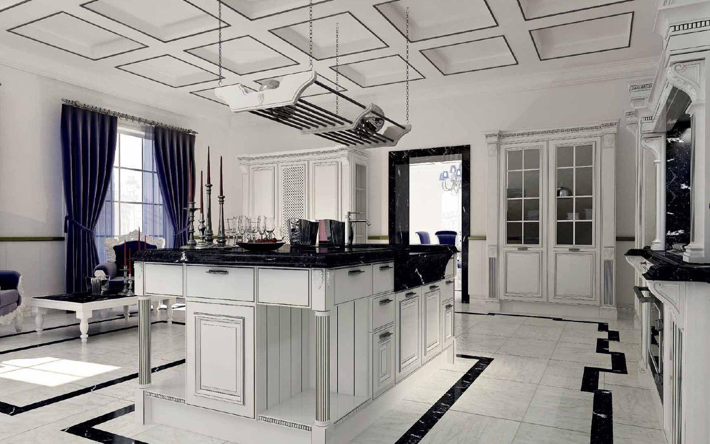 Кухня от фабрики Berloni