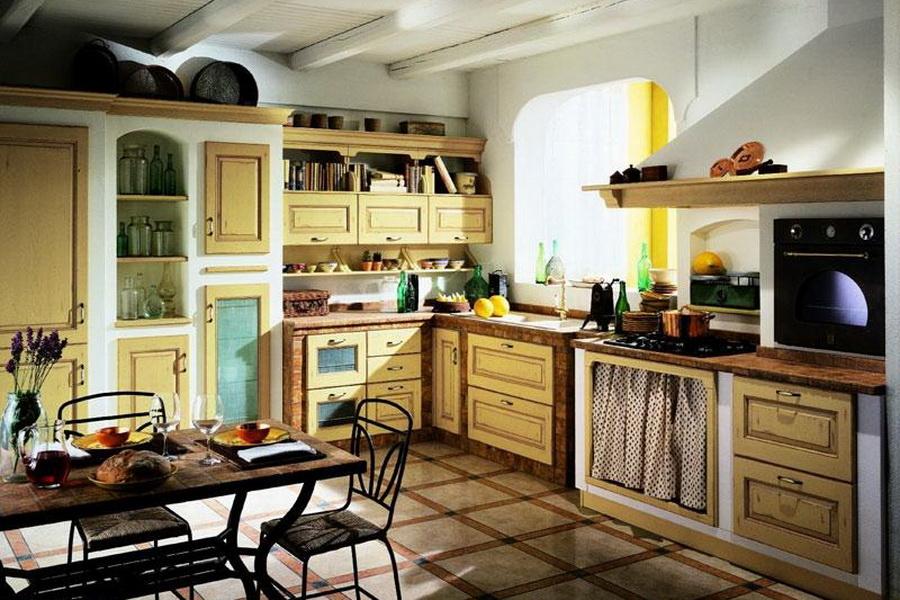Изящная кухня в стиле прованс