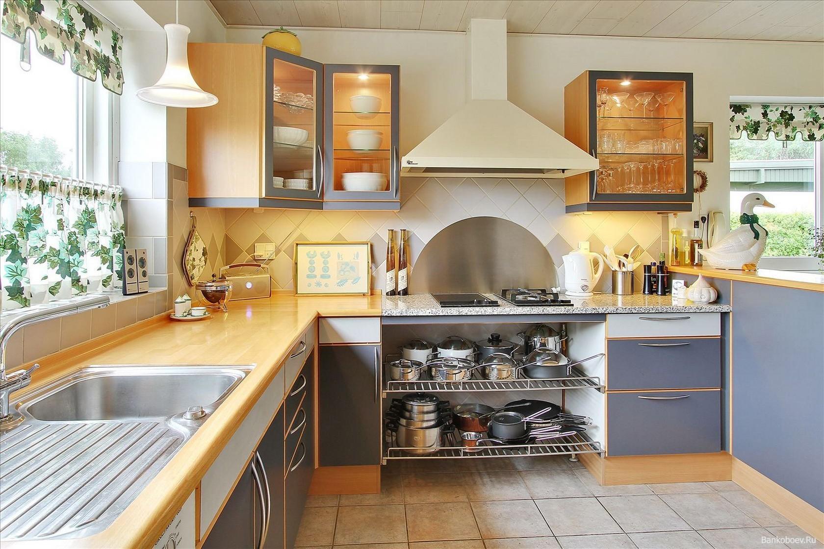 посуда на кухне
