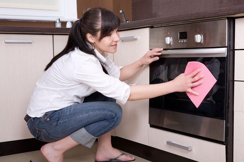 Делаем уборку на кухне