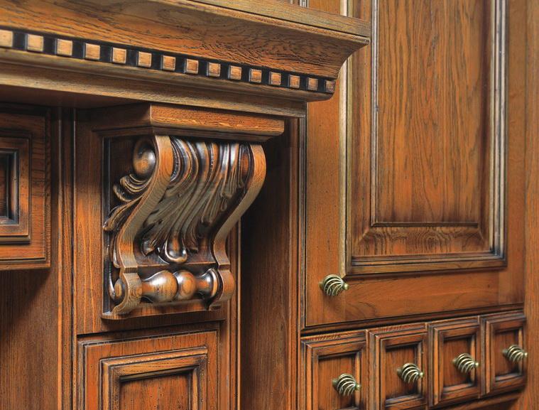 Фасады часто украшаются декоративными элементами