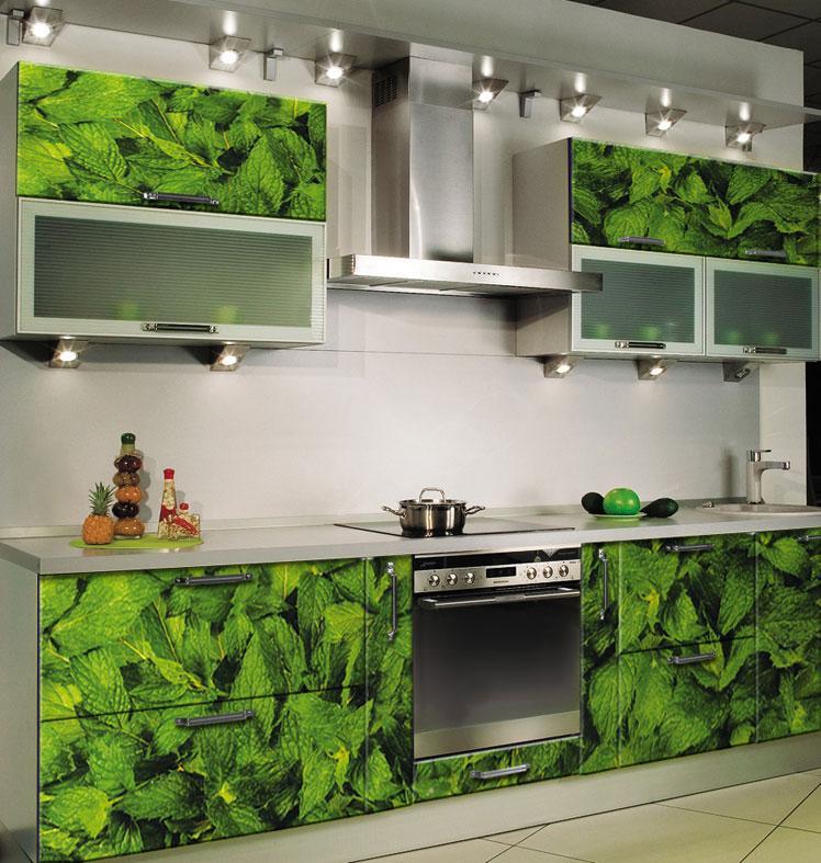 Фотопечать применима на любой современной кухне