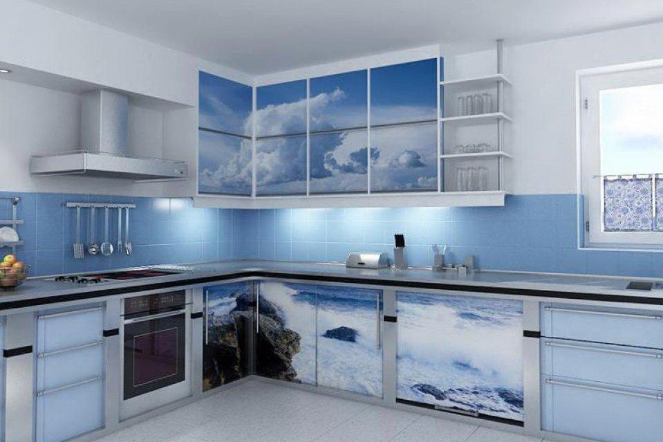 Кухни с фотпечатью