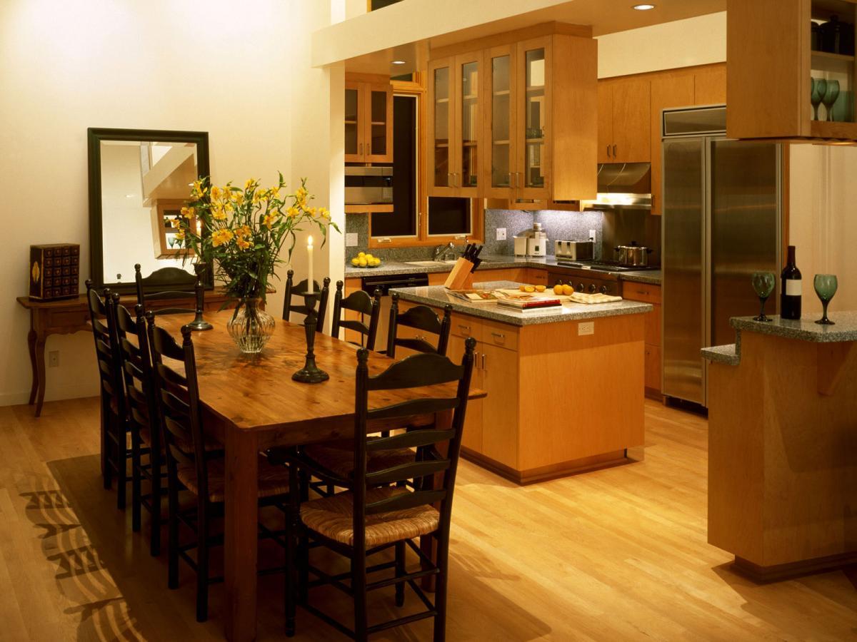 Кухни столовые дизайн