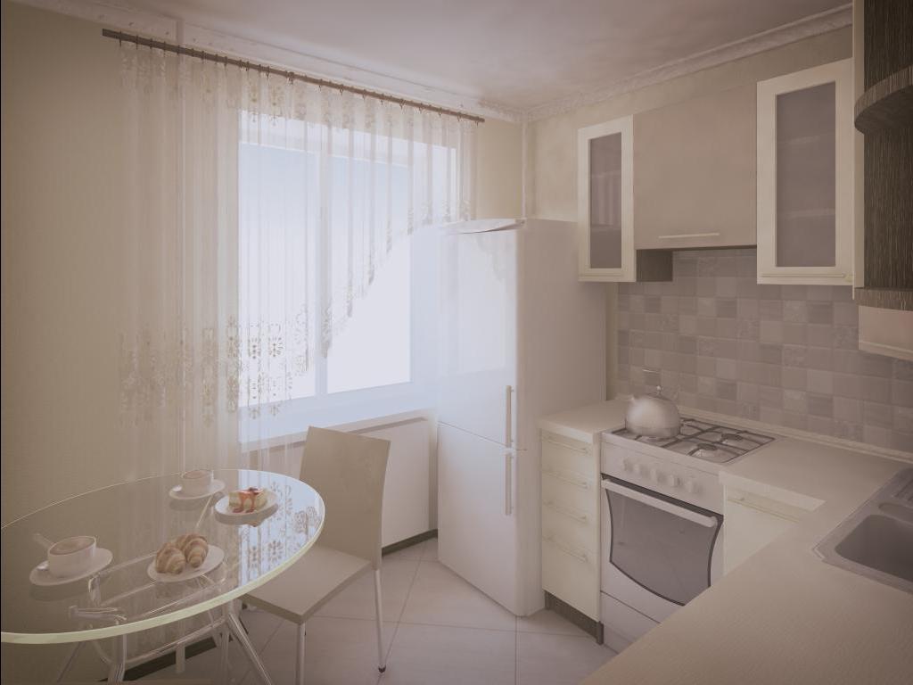 Удачный дизайн маленькой кухни: фото примеры