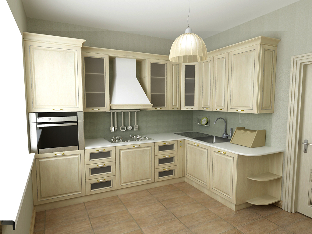 дизайн кухонных угловых гарнитуров фото