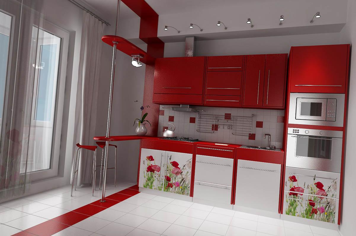 Кухня с красивым дизайном
