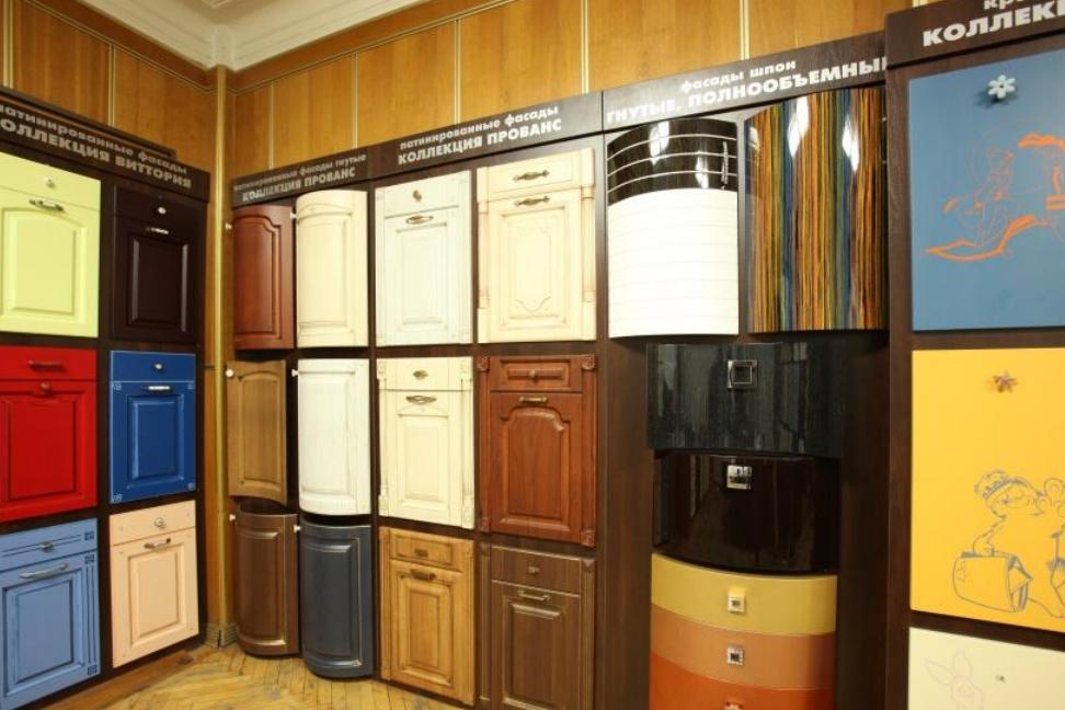 Разнообразие фасадов для кухни