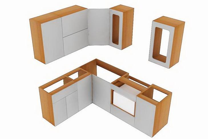 Кухонные шкафы 38