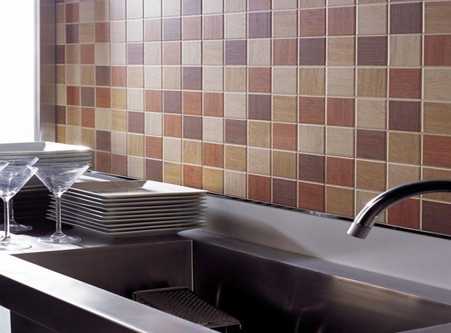 Фартук на кухне задает стиль всему помещению