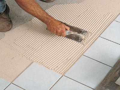Классическое решение - керамическая плитка