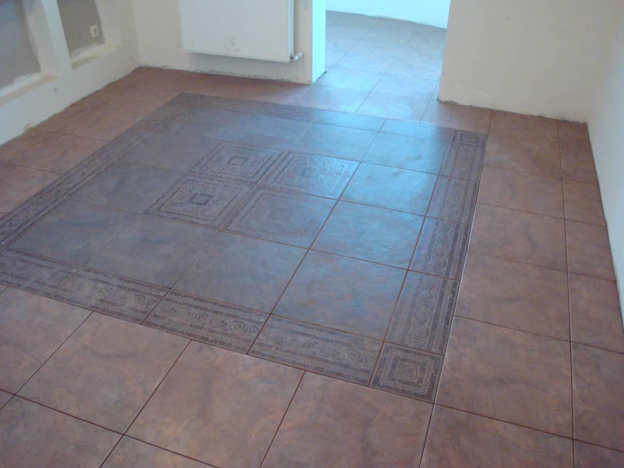 Керамическая плитка идеальное решение для пола на кухне