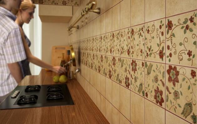 """Керамическая плитка для кухни на фартук - современные решения - kuhnyagid """" kuhnyagid"""