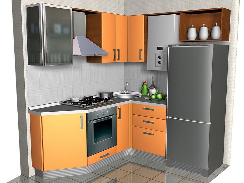 Г образная кухня