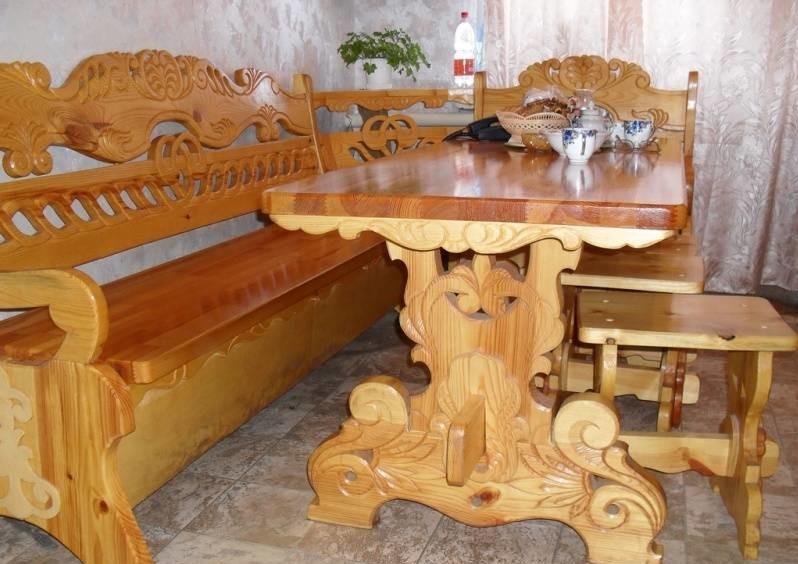 Мебель из массива дерева своими руками чертежи фото 23