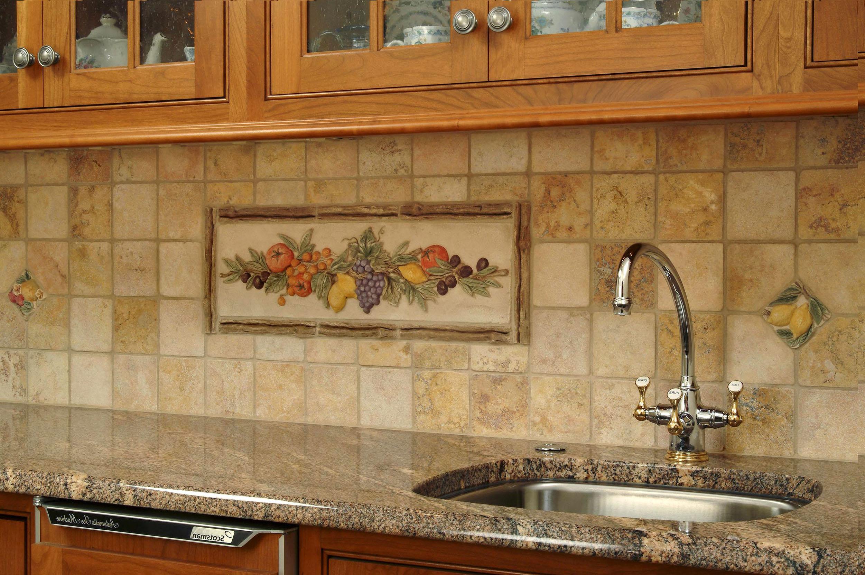 Дизайн кухни из керамической плитки фото