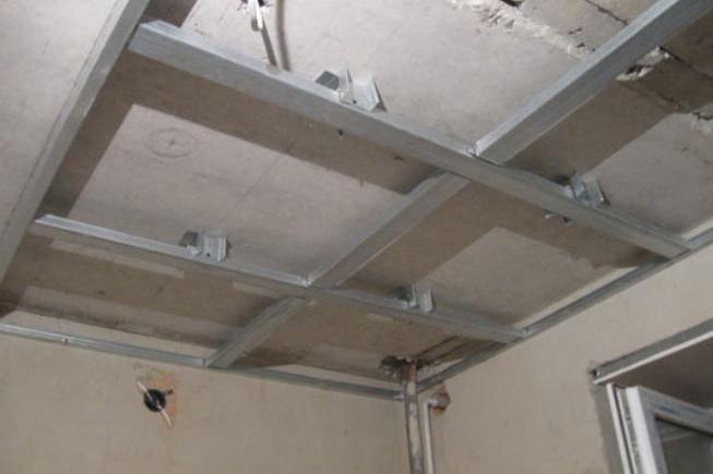 Реконструкция потолка