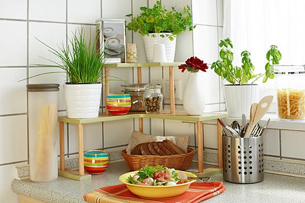 Украшение кухни включает в себя мелкие детали