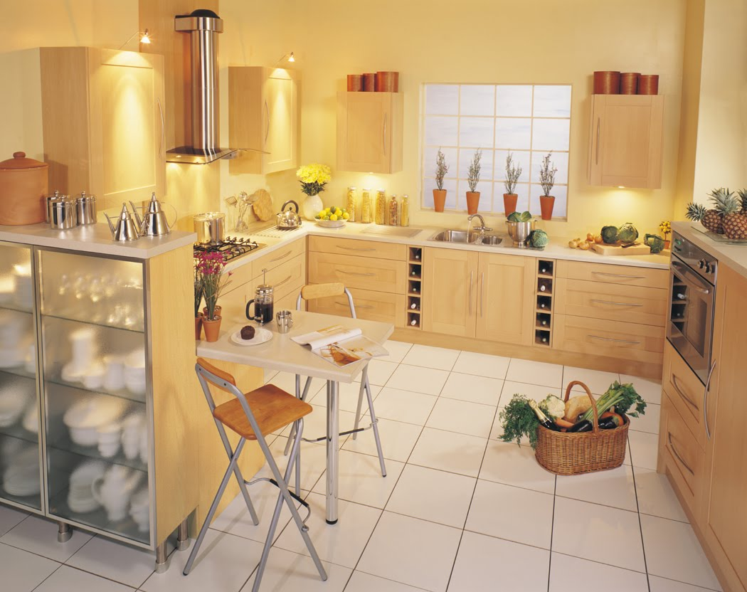 Декорирование кухни состоит из различных деталей