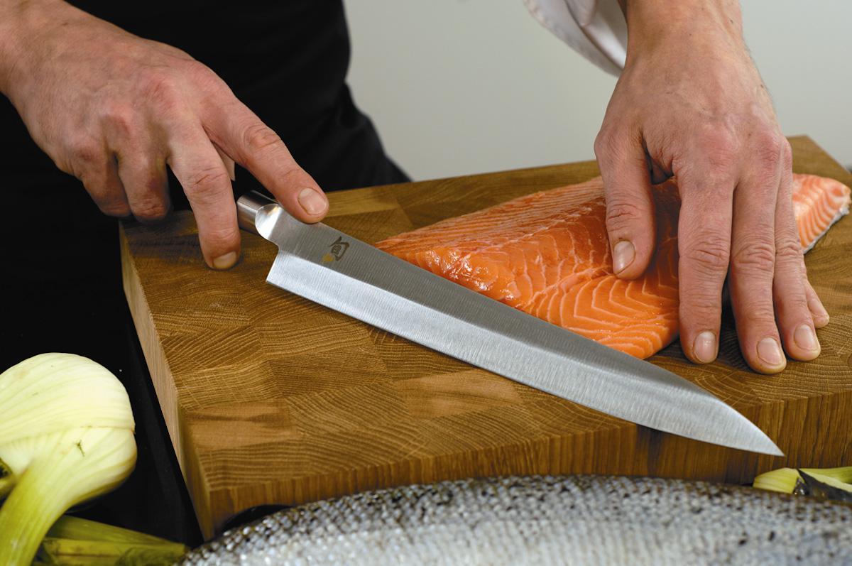 Yanagiba (Янагиба) – нож для нарезки сырок рыбы