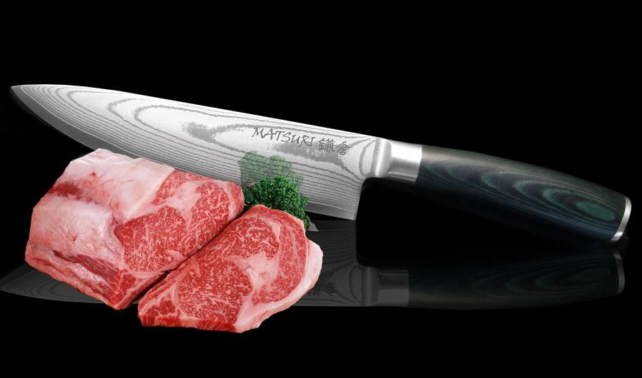 Стальные японский нож для нарезки мяса