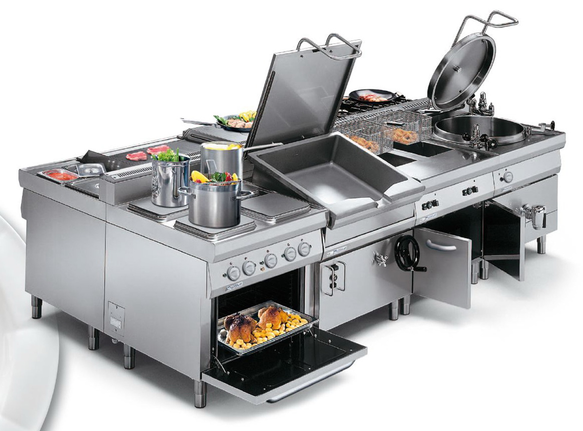 На кухне может использоваться разнообразное оборудование