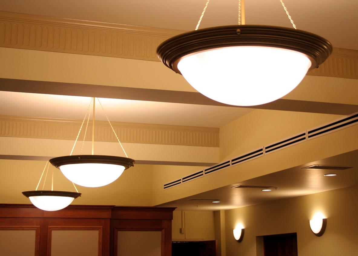 Потолочные светильники еще один вариант освещения
