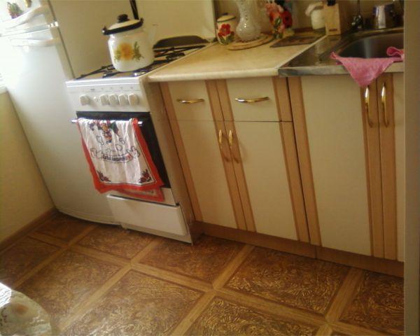 Линолеум на кухне не плохое решение