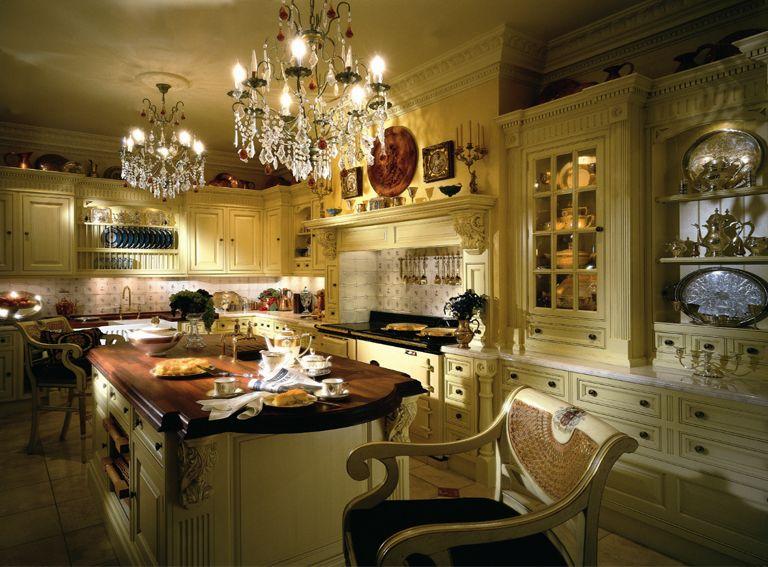 Люстра на кухню подбирается к основному декору