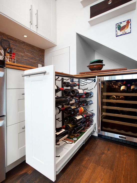 Шкаф карго незаменим на современной кухне