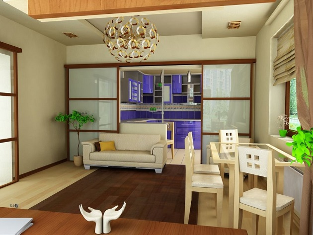 Совмещение двух соседних помещений актуально для небольших квартир и домов