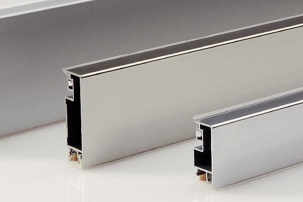 Алюминиевый плинтус для кухни в стиле модерн
