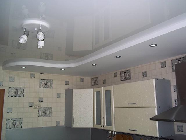 Потолки из гипсокартона зрительно уменьшают комнату