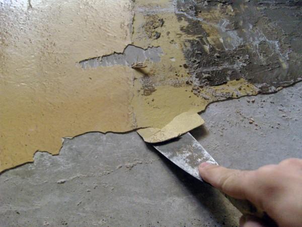 Потолок для покраски нужно изначально правильно подготовить