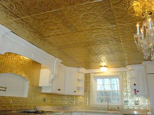 Полистироловая плитка одно из потолочных решений