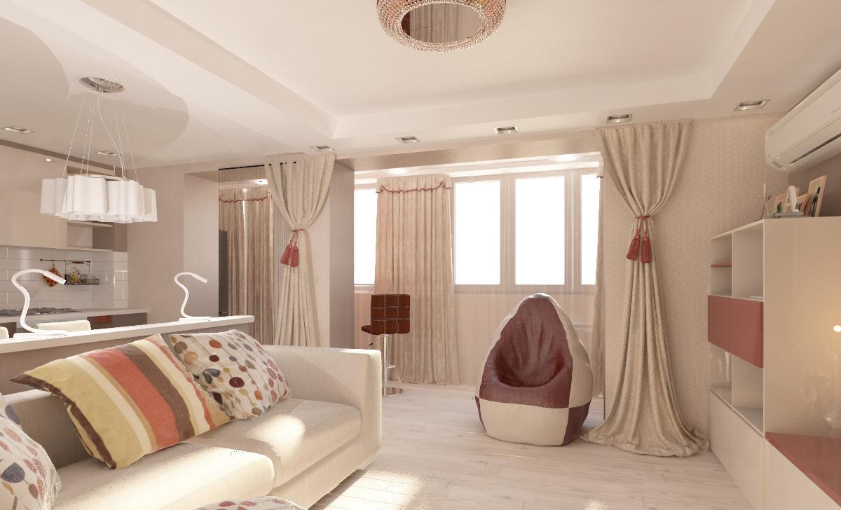 """Кухня, совмещённая с гостиной - простор и комфорт """" kuhnyagi."""