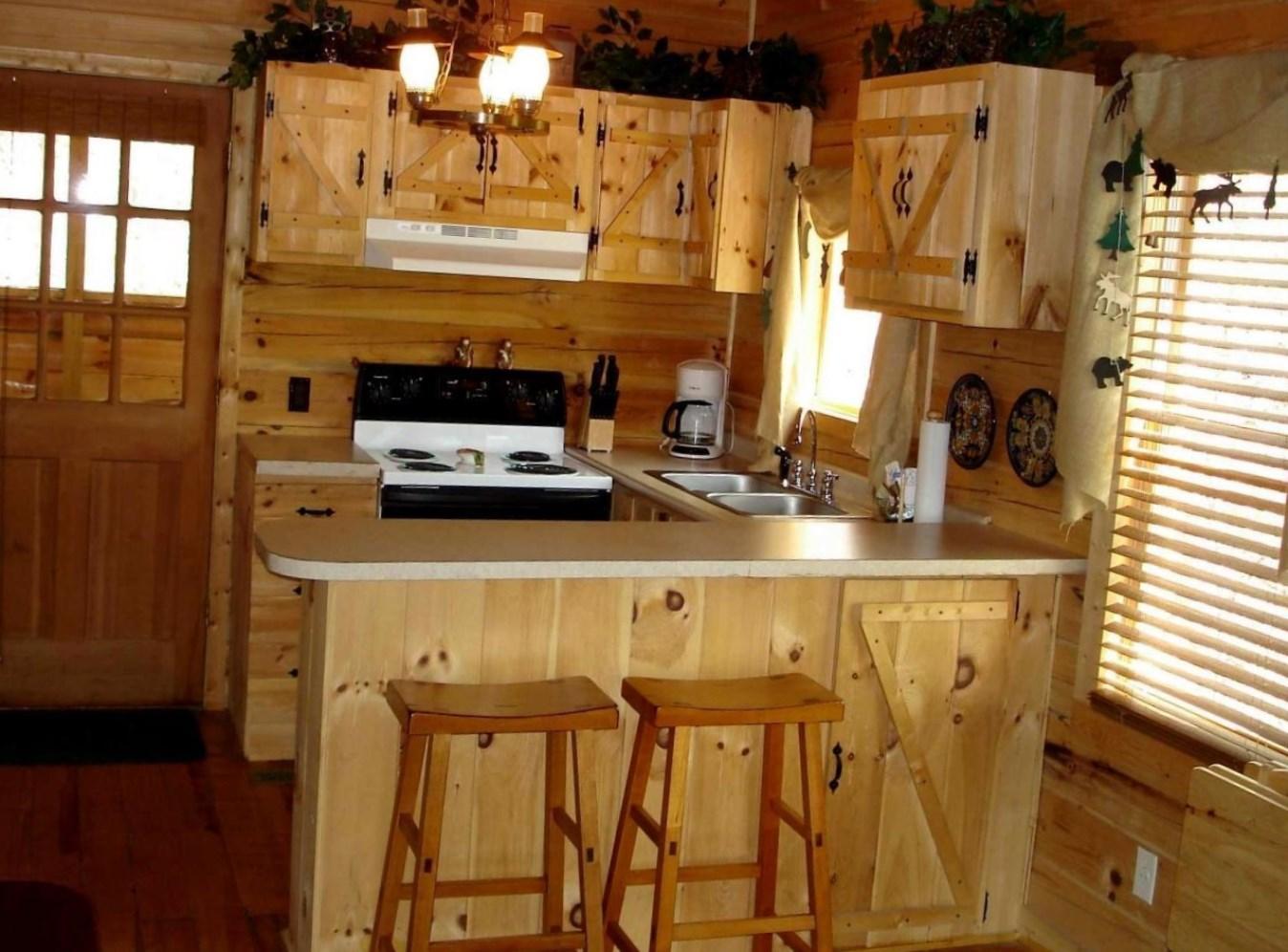 Кухня в дачном домике своими руками