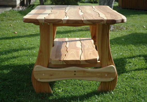 Пример самодельной мебели
