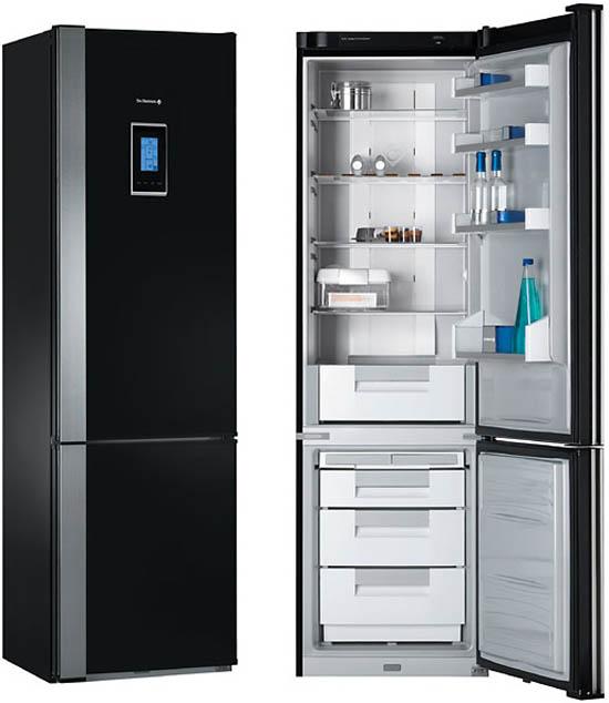Зона хранения продуктов на современной кухне