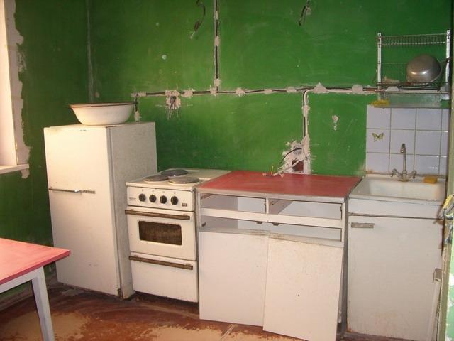 Такая кухня требует капитального ремонта