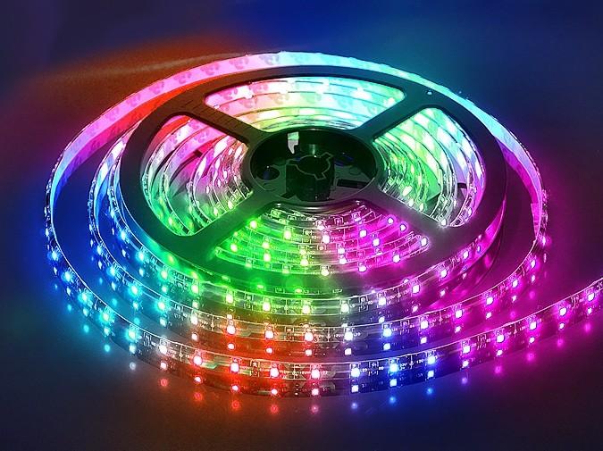 Светодиодные ленты бывают разнообразных цветов