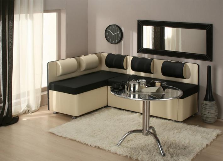 Изюминка интерьера – это правильно подобранный по форме и цвету угловой диван.