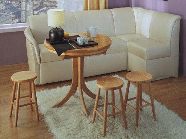 Угловой кожаный диван – символ стиля