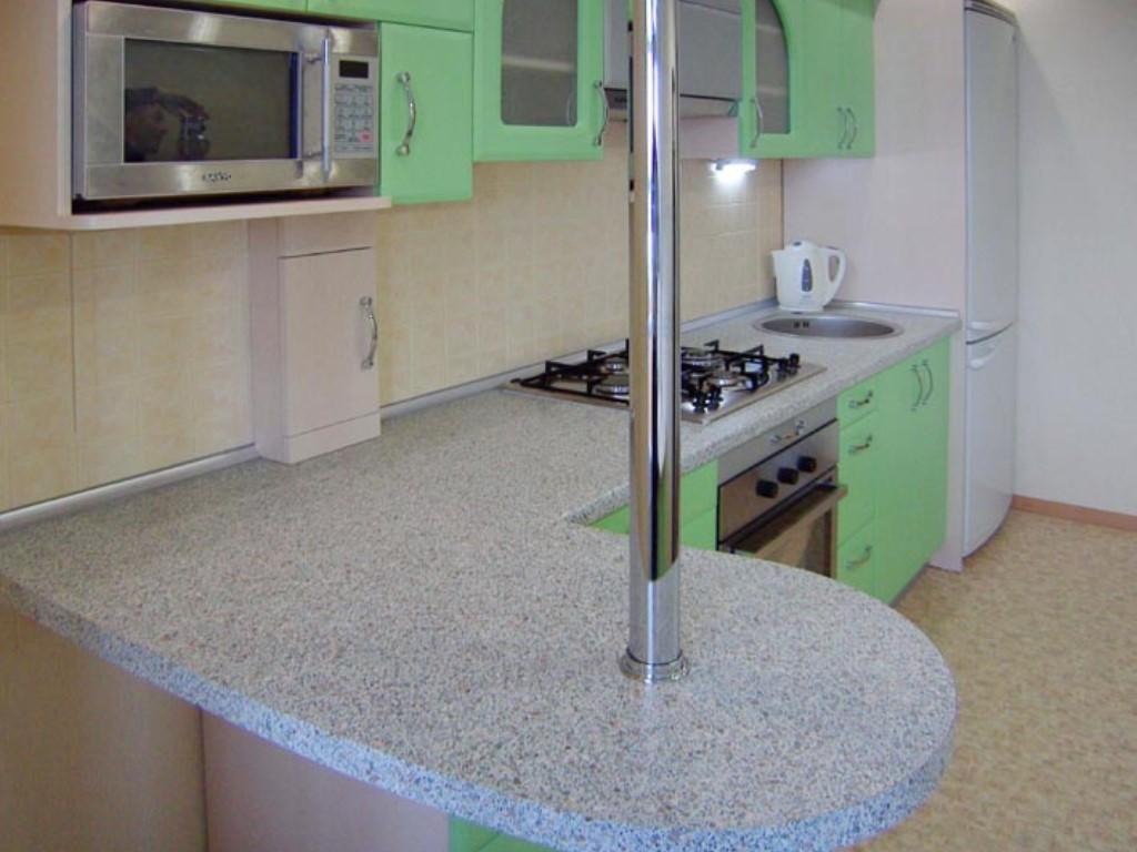 Барная стойка для кухни своими руками может стать очень интересным дизайнерским решением.