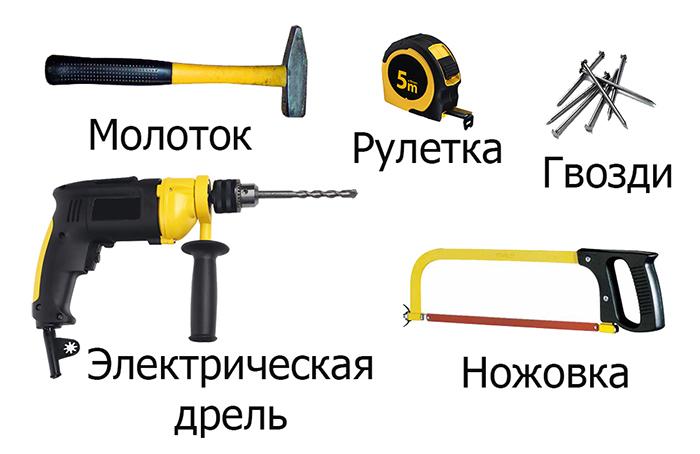 Инструменты для создания барной стойки своими руками