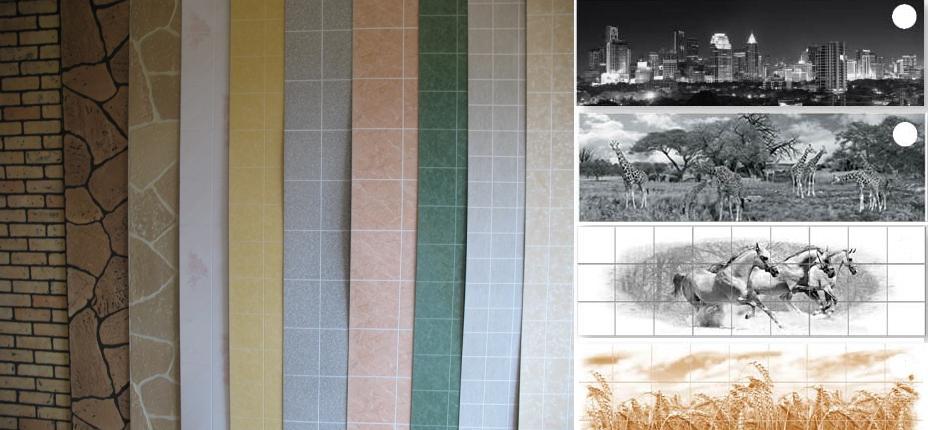 Несколько разновидностей декоративных панелей для кухни